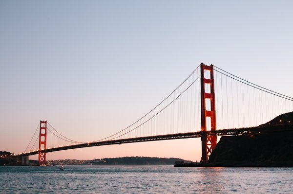 Sunset in Sausalito, with a View of San Francisco // WeAreAdventure.us