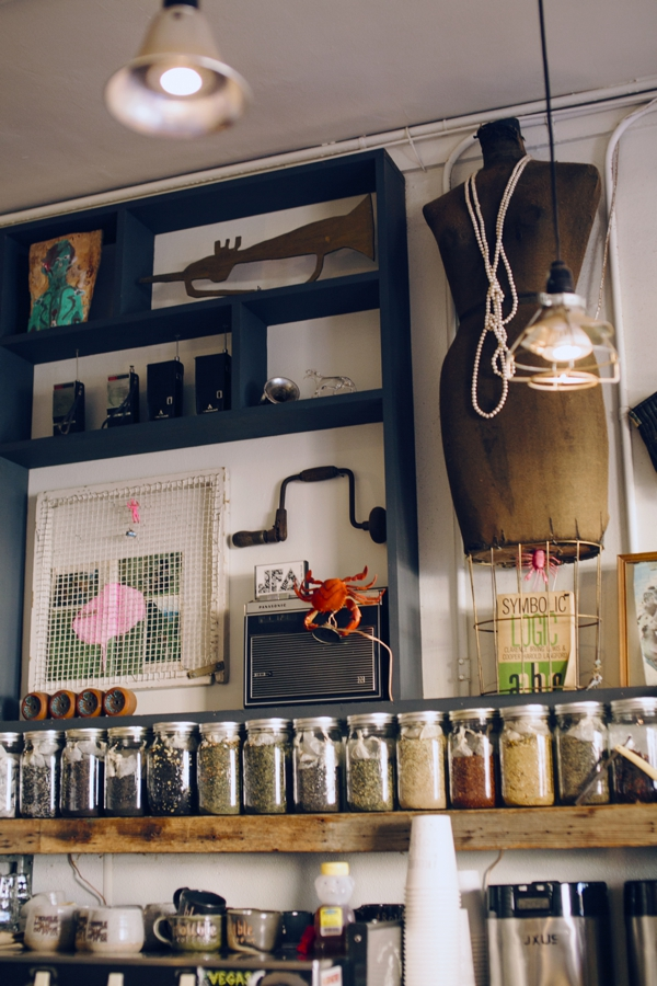 Fantastic Interior at Trouble Coffee Shop in the Sunset District of San Francisco, California // WeAreAdventure.us